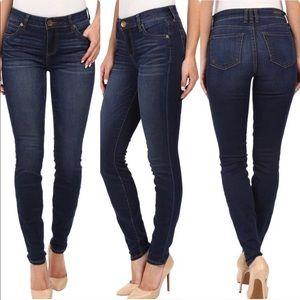 Kut From the Kloth Mia Toothpick Skinny Jeans 6